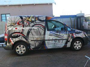 Web Design Hosting Upington | Vehicle Wrap